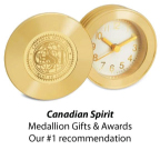 Canadian Spirit - Medallion Gifts and Awards